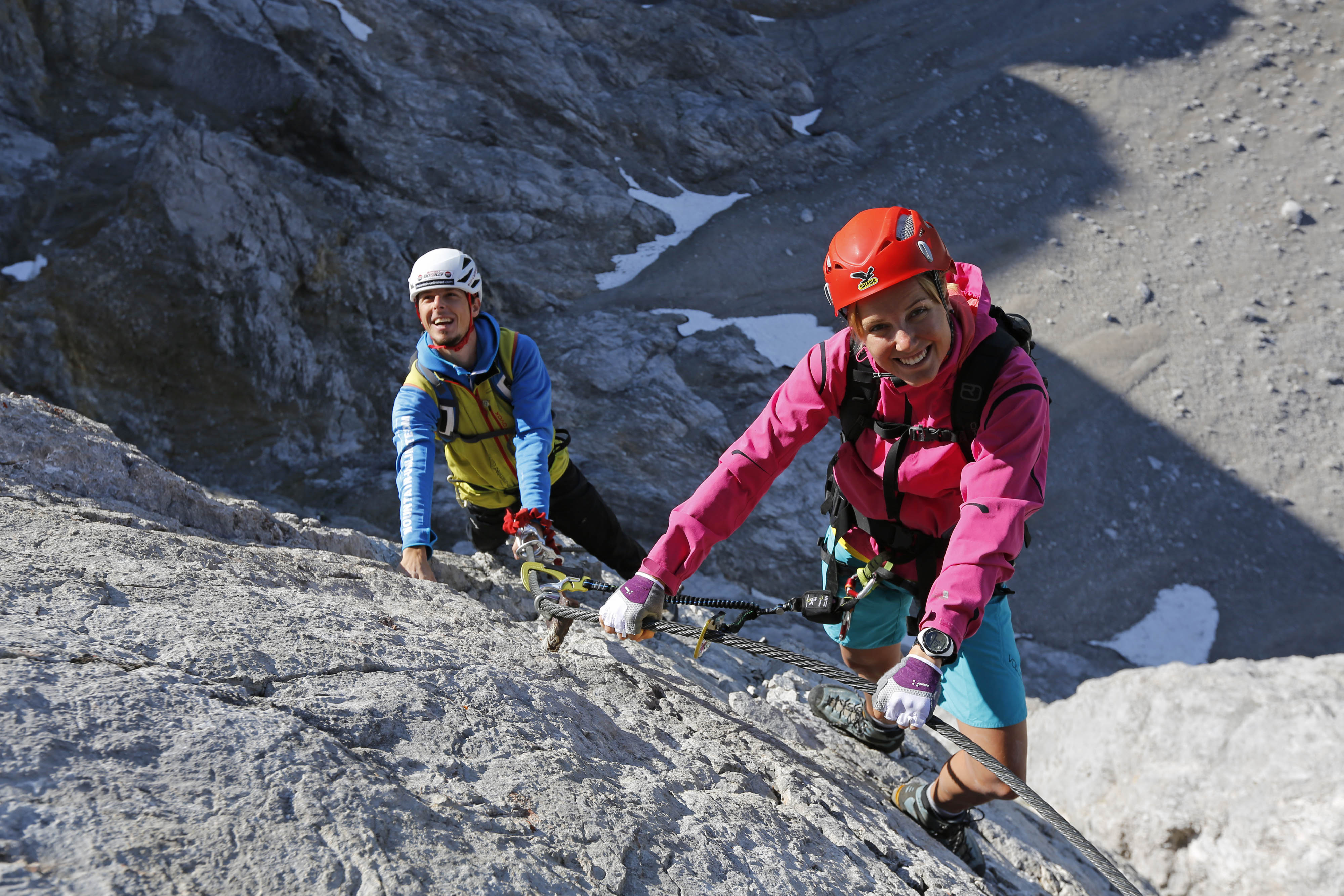Klettersteig Ramsau : 175 jahre klettersteig genusszeit