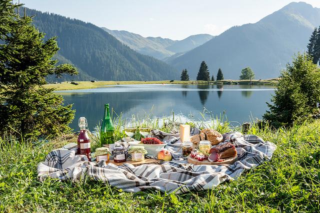 Hotel Foyer Auf Englisch : Frühstück mit bergblick genusszeit